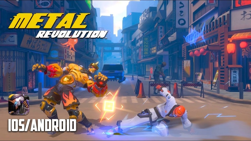 METAL REVOLUTION - iOS / Android - FIRST GAMEPLAY TRAILER
