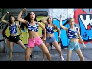 Reggaeton dance реггетон танец (kalibwoy, ghetto flow, dj irwan- wip wap)