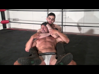 Muscle domination wrestling - matt thrasher vs muscle master kevin