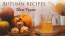 RAW VEGAN AUTUMN RECIPES | Energy balls fruit-herbal tea | The best dishes for the fall
