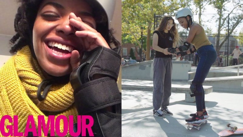 Learning to Skateboard and Ollie in 30 Days | Glamour