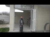 Раздвижная Дверь  ГАРМОШКА REHAU с 3  частей