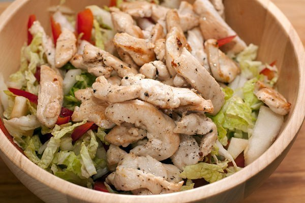 Рецепты салатов из куриной грудки фото