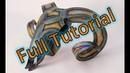 How to - welded metal sculpture - Ram Skull - Full Tutorial