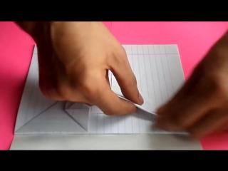 оригами идеи для личного дневника(лд) #4_сердечко-конверт _origami heart envelope