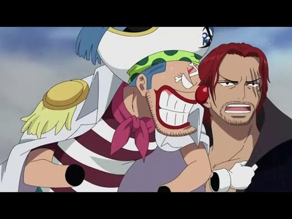 [Ван пис] Встреча Шанкса и Багги (Два великих пирата)