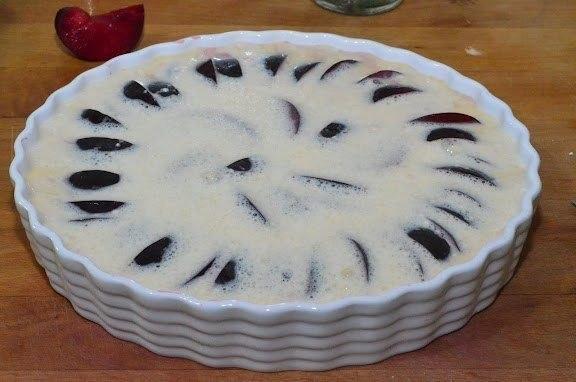 Клафути со сливами рецепт с фото