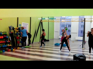 """HOT IRON and KETTLEBELL FITNESS FOR WOMEN  ФК """"Леон"""""""