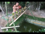 Primitive technology Water purifier supply OXi for fish ponds water filter