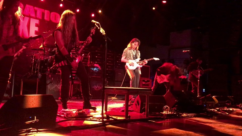 Steve Vai, Zakk Wylde, Yngwie Malmsteen, Nuno Bettencourt, Tosin Abasi - Bohemian Rhapsody live 2018