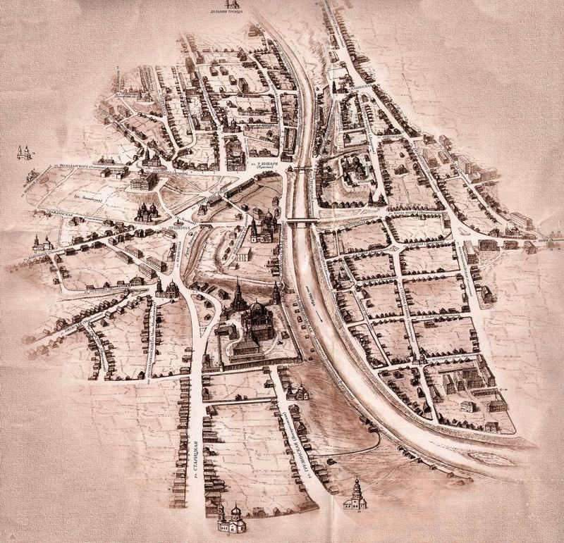 Город Торжок (1634–1636 гг.