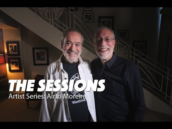 AIRTO MOREIRA - Brazilian jazz drummerpercussionist, played with biggest names in music!