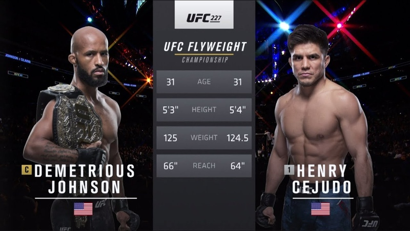 UFC 238 Free Fight: Henry Cejudo vs Demetrious Johnson 2