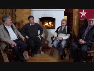 Новогодние поздравления! Павел Грудинин, Юрий Болдырев и Геннадий Зюганов!