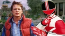 Back to the Future Power Rangers Time Force Style!