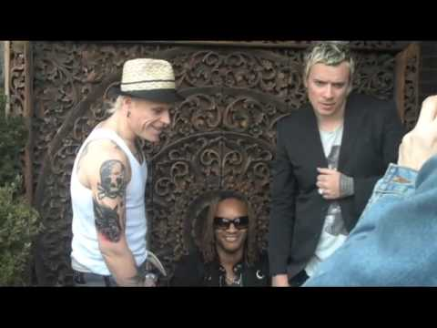 The Prodigy's Big Shot Mag Cover Shoot