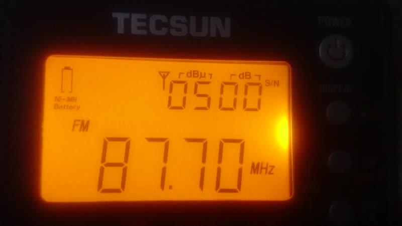 87.7 YLE YKSI(Eurajoki)~452km