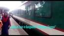 Sundarban Express | Luxurious Train of Bangladesh Railway | Arriving Darshana Halt Station