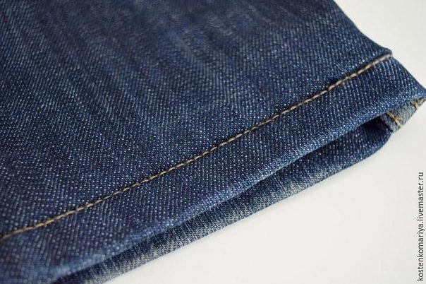 Как подшить джинсы. На заметку.