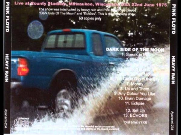 Pink Floyd - Heavy Rain (Live Milwaukee, Wisconsin, USA - June 22nd, 1975)