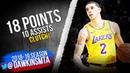 Lonzo Ball Full Highlights 2019.01.17 Lakers vs Thunder - 18 Pts, 10 Asts, CLUTCH!   FreeDawkins