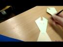 10 А класс проводит урок технологии во 2 А классе