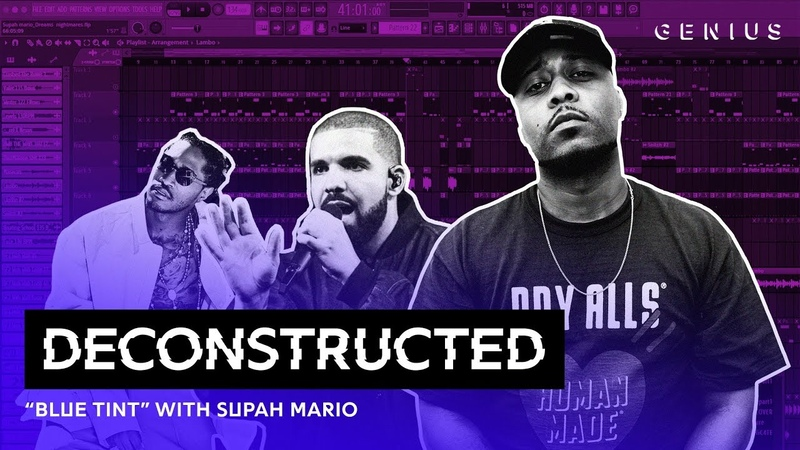 The Making Of Drakes Blue Tint With Supah Mario | Deconstructed