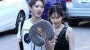 180720 현아(HyunA) 쌩얼 가려주는 펜타곤 후이 [뮤직뱅크 퇴근길] 4K 직캠 by 비몽