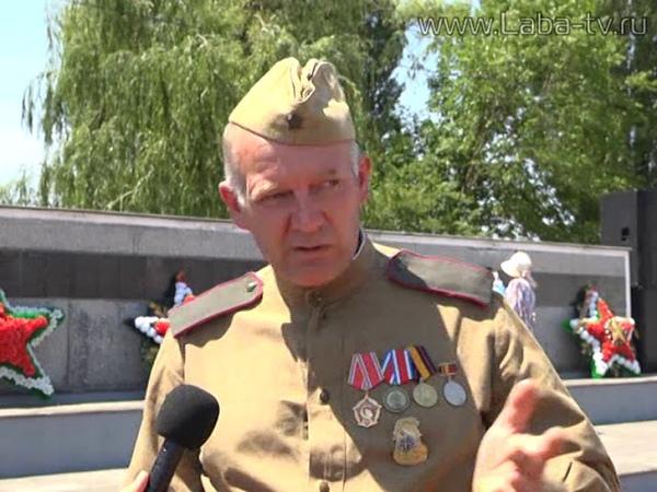 Погибший в годы Великой Отечественной войны солдат обрел покой на родной земле.