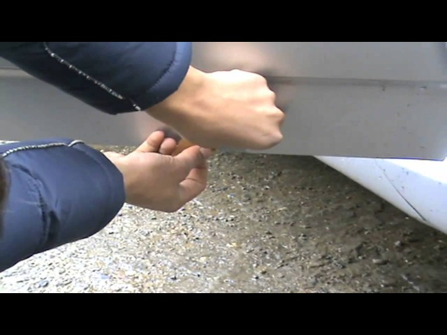 Как убрать ржавчину с кузова авто