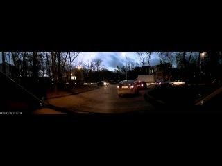 Видео Sho me HD 180D поздний вечер тест форумповидеорегистраторам рф
