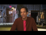 Powerless Teddy Behind The Scenes Interview - Danny Pudi