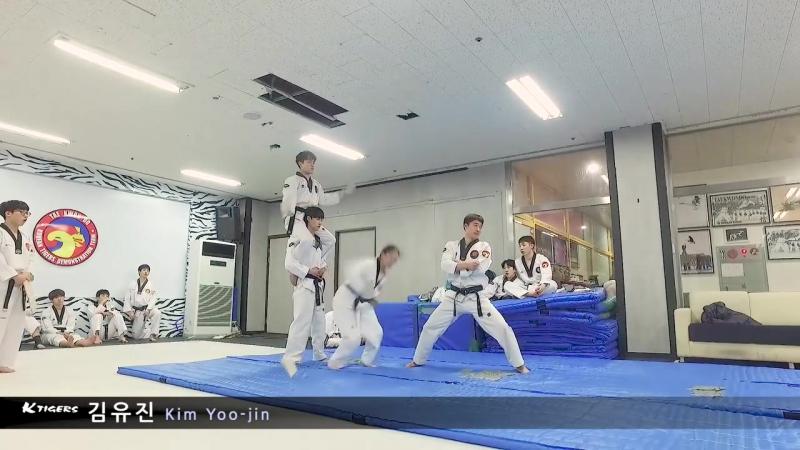 2016-12-04 K타이거즈 기본 격파 연습 K-Tigers Kyukpa Training