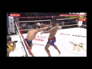 Lethwei in Japan 9: в самом конце второго раунда...