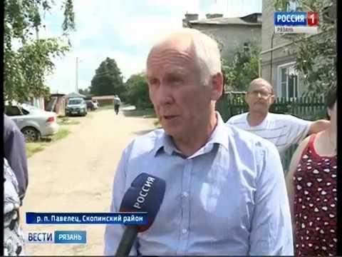 Жители поселка Павелец 6 лет добиваются очистки канализационных стоков