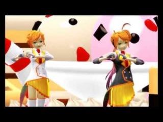 【MMD】Third Pudding War [Anon & Kanon]