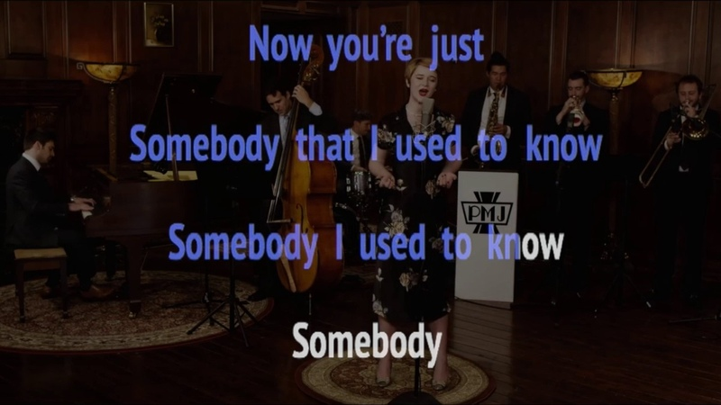 PMJ Karaoke: Somebody That I Used to Know (as sung by Hannah Gill)