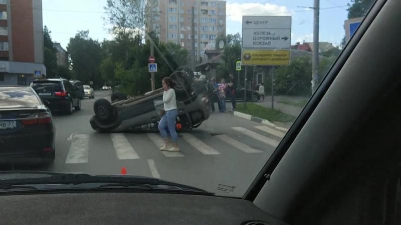 Иваново. Авария на ул. Бубнова