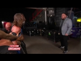 WWE EXCLUSIVE AJ Styles Has To Be Restrained From Attacking Samoa Joe
