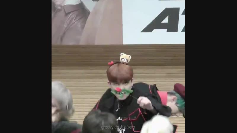 190209 팬싸 - 꽃을 물고 하다니_ ㅠㅡㅠ - 종호 최종호 - 에이티즈 ATEEZ - JongHo ChoiJongHo