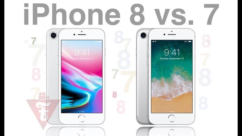 IPhone 8 vs 7 что выбрать в 2019