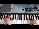 Piano Tutorial - Within Temptation ~ Forgiven ~ Part 1 Right Hand
