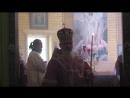 14 Августа 2018 года освящение Крестовоздвиженского храма село Песь