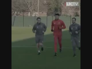 The hard work continues at Melwood...