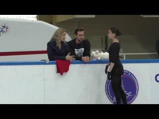 Alina zagitova 2019.09.07 open skating before sp me voy by yasmin levy