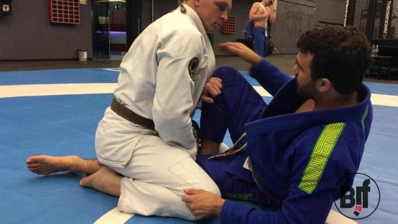 Rodrigo Teixeira- back take from sitting guard bjjfreaks_TV
