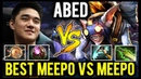 The Best Meepo Player vs Meepo in Top Ranked - ABED Invoker