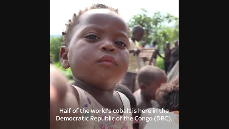CHILDREN AS YOUNG AS FOUR ARE WORKING IN CONGOLESE (720 HD)