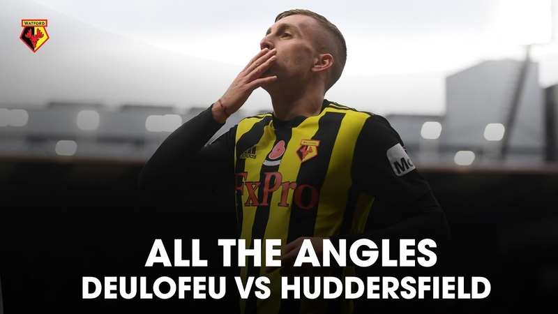 ALL THE ANGLES | DEULOFEU MAGIC AGAINST HUDDERSFIELD 🚀