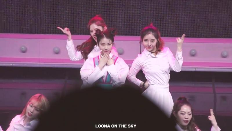 [FANCAM] 180603 이달의소녀Yeojin – Kiss Later (Short Ver.) @ Premier Greeting LineUp